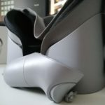 Bottom view of Oculus Go with controller