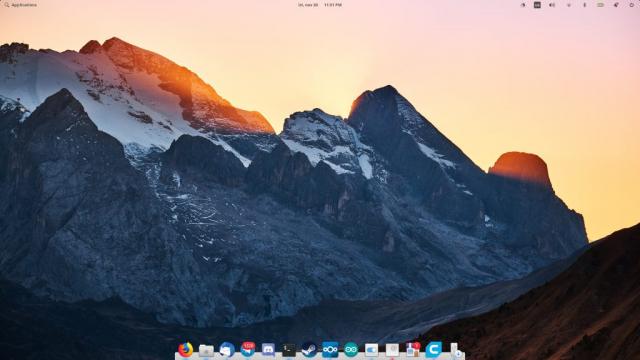 Elementary OS Juno Desktop