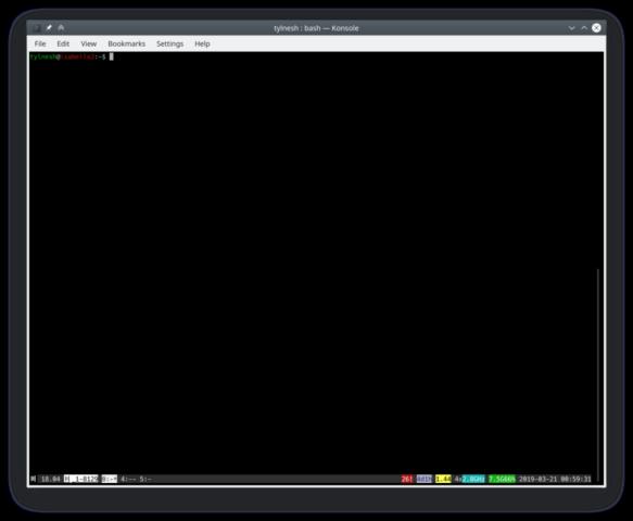 Konsole - Terminal emulator