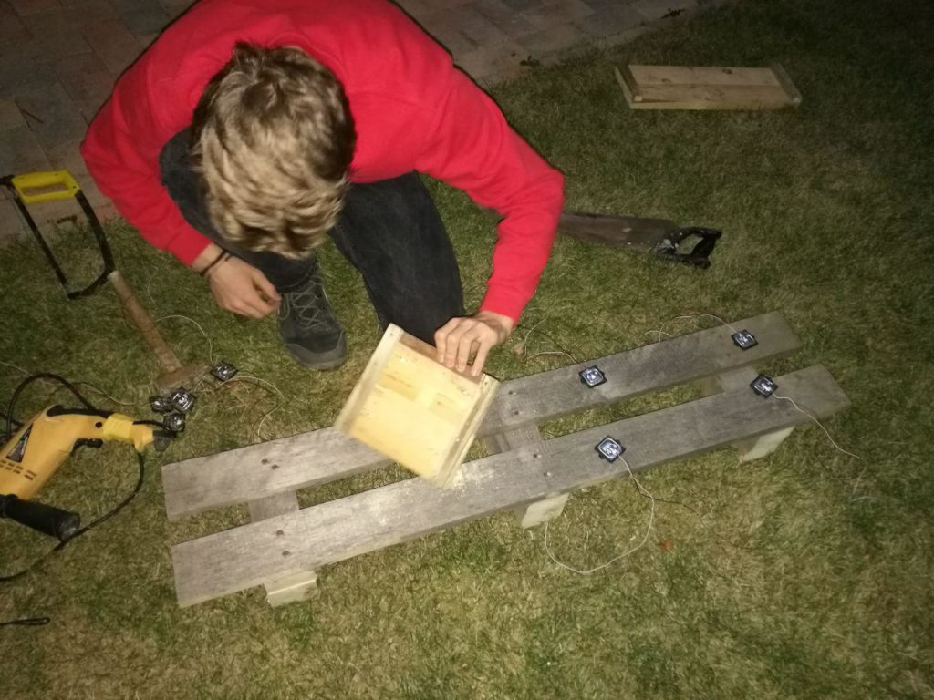 Weight scale ramp
