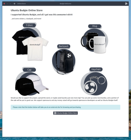 Budgie Welcome - Buying swag