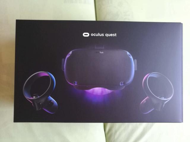 Oculus Quest - Box cover